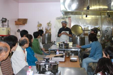 2009年10月18日お豆腐作り体験イベント