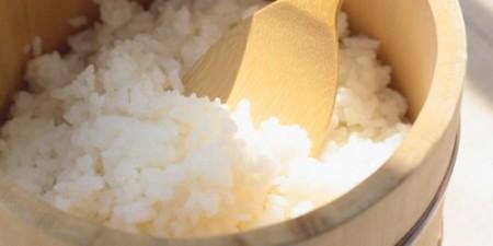 国産有機米の炊きたてごはん